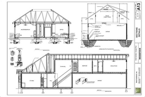 2nd Floor House Plan by Chief Architect Home Design Software Samples Gallery