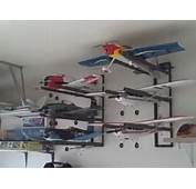 Radio Control RC Airplane Wall Hanger Storage Rack System  YouTube