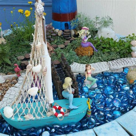 best ideas best gardening ideas mermaid and beach themed fairy garden