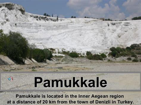 cotton castle pamukkale hierapolis turkey the cotton castle