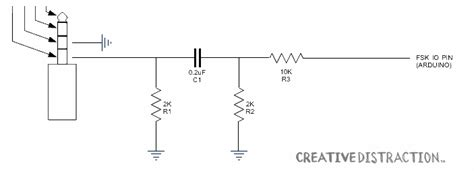 adding resistor to headphones audio understanding this circuit for getting sensor data from an arduino to a phone via the