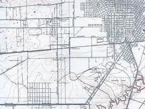 road map of houston houston maps houston past