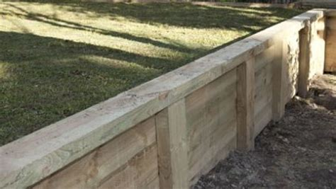 Secure Landscape Timbers Ground 25 Best Ideas About Wood Retaining Wall On
