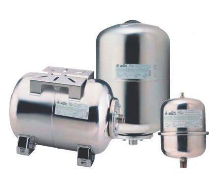 vaso di espansione per autoclave vaso espansione inox orizzontale per autoclave lt 24 elbi
