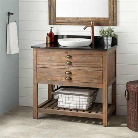 wooden bathroom vanity best 25 reclaimed wood bathroom vanity ideas on