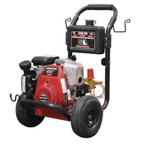 be power washer pressure washer 2700 psi 5 o honda gc160