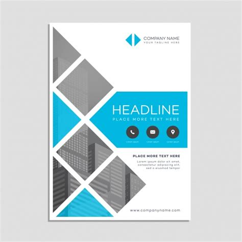 business poster template vector free