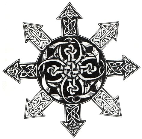 chaos star tattoo designs celtic chaos by ppunker on deviantart