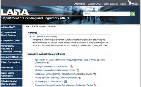 Virginia Board Of Nursing License Lookup Phone Number Rn License Verification Mi Rn License Verification