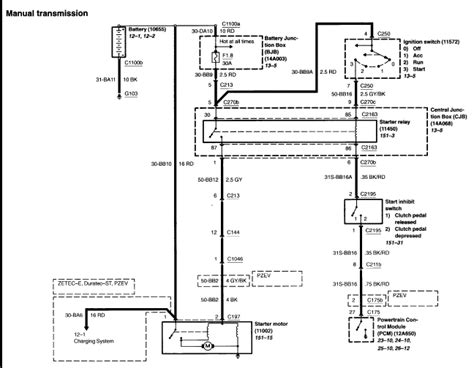 alternator wiring diagram ford transit efcaviation