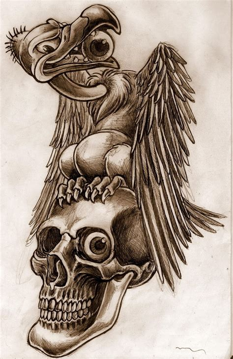 buzzard tattoo designs vulture images designs