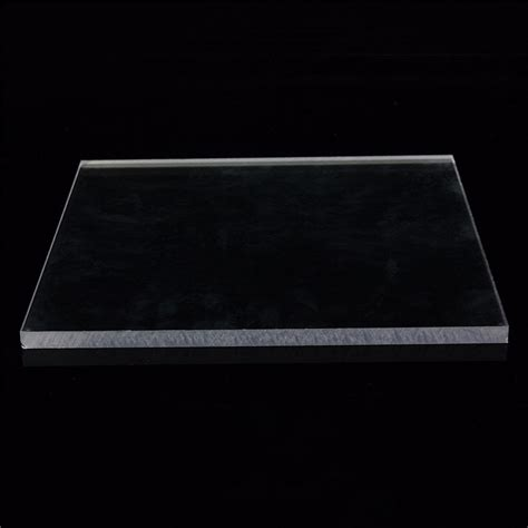 Clear Acrylic Sheet 4 Mm Ukuran Custom low price 3mm clear acrylic perspex sheet custom cut to size pu plastic panel transparent sawn
