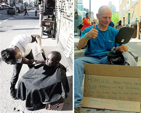 haircuts homeless every sunday this new york hair stylist gives free
