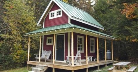 chalet home plans vt 160 sf shed cabin in vermont 001 house designs