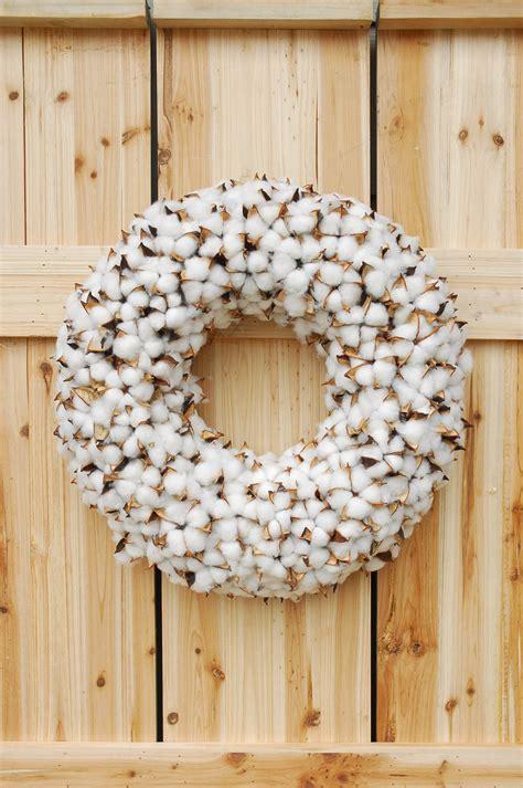 faux wreaths faux cotton wreath 18 5in