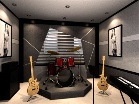 music studio in house black and white bathroom ideas home design interior idolza