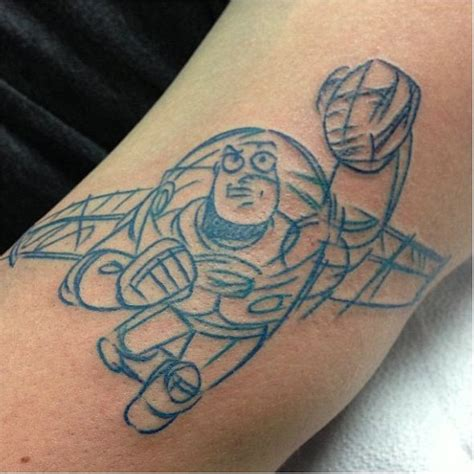 buzz lightyear tattoo tattoos pinterest