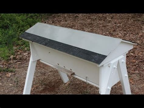 Top Bar Hive Roof by Working With Aluminum To Make A Bee Hive Roof