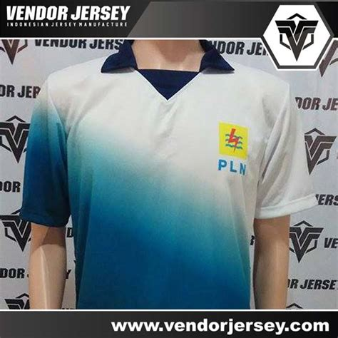 Baju Olahraga Semarang pesanan pembuatan baju olahraga pt pln vendor jersey