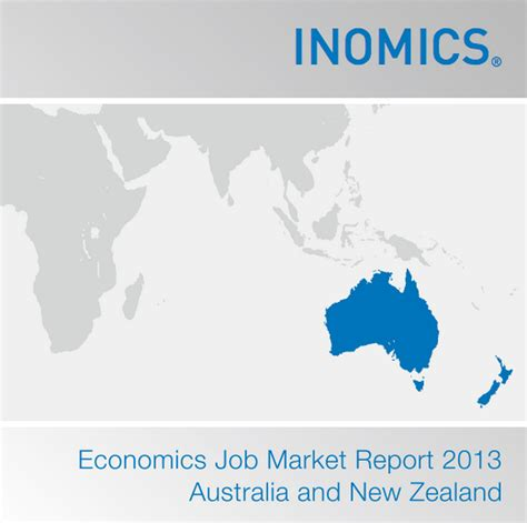 Mba Hr New Zealand by Economics Market Report 2013 Australia New Zealand