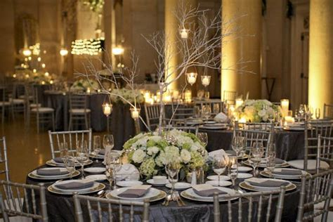 sabi s parisian and silver wedding table
