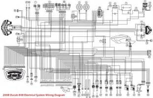 2008 ducati 848 electrical system wiring diagram