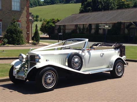 wedding cars vintage beauford vintage style open tourer kent medway wedding
