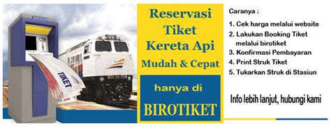 Kereta Api Orbit Murah Meriah kini buka usaha e tiketing tour travel semudah membuka
