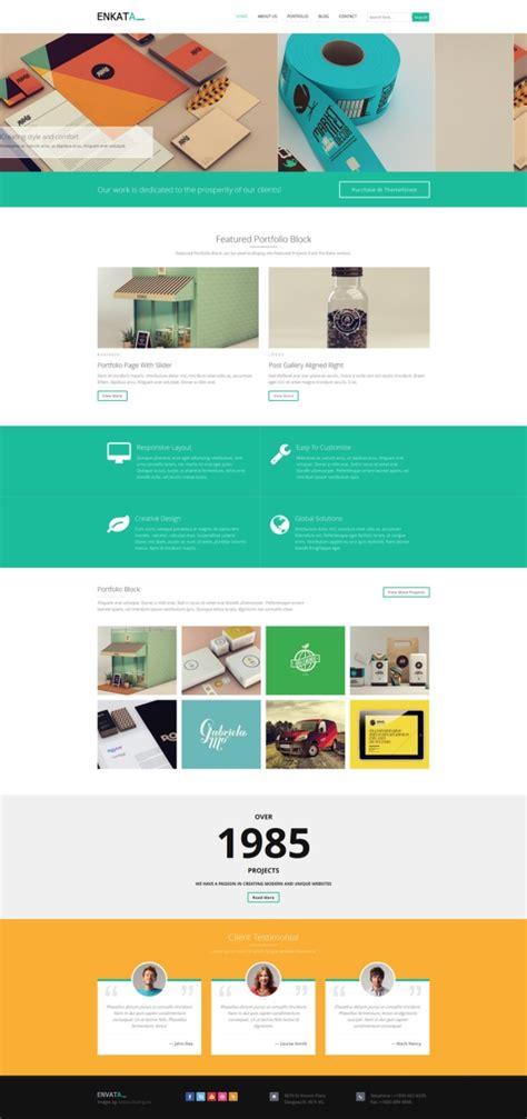 themes wordpress cms enkata responsive wordpress cms theme theme spiration