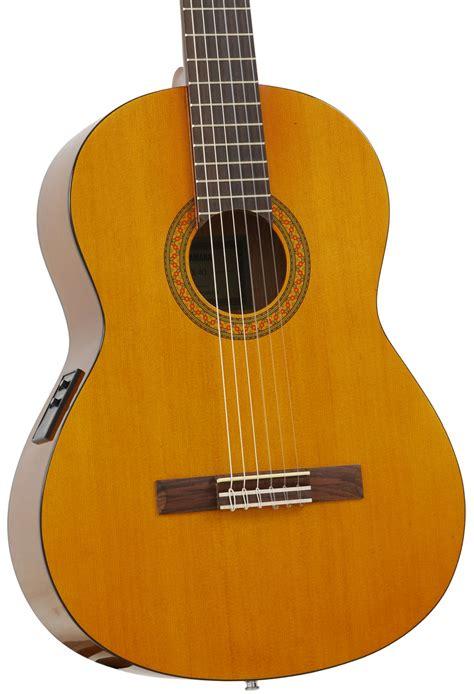Gitar Yamaha Klasik Nilon Elektrik Cx 40 yamaha cx 40 ii classical guitar with electronics