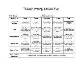 infant lesson plan template toddler lesson plan template 10 free sle exle