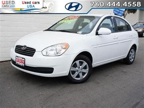 for sale 2009 passenger car hyundai accent gls carlsbad