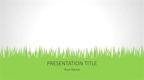 grass powerpoint background free powerpoint slides
