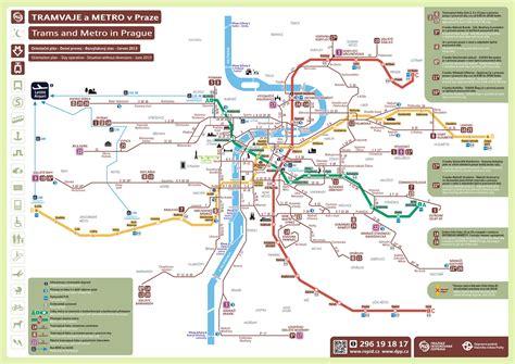printable map prague prague transport map pdf my blog