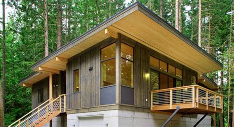 Method Homes Cabin by Prefab Friday Method Homes Modular Cabin Inhabitat