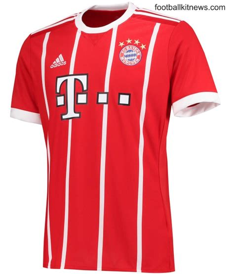 Jersey Bayern Munchen Home Go New Season 2017 18 Grade Ori new bayern munich home kit 17 18 adidas fc bayern munchen home jersey 2017 2018 football kit