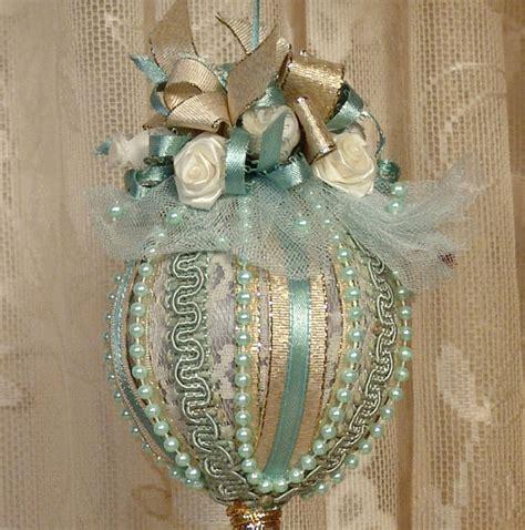 Vintage Handmade Ornaments - handmade ornament keepsake vintage