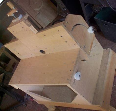 woodwork horizontal vertical router table plans  plans