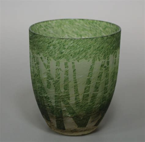 japanese glass japanese etched glass tumbler