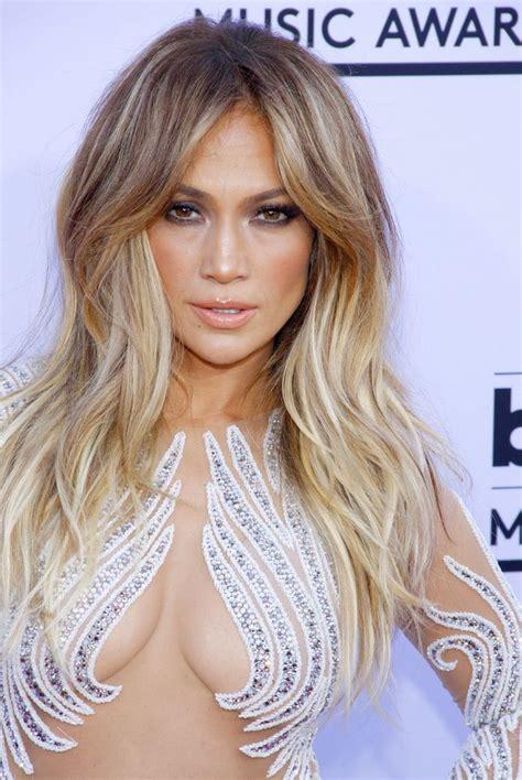 western singers blonde highlight hairstyles jennifer lopez 2015 billboard music awards best hair