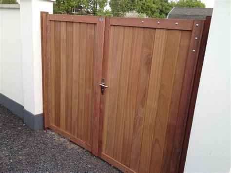 Garages Design belmonte dubbele poort eigen productie elegantwood