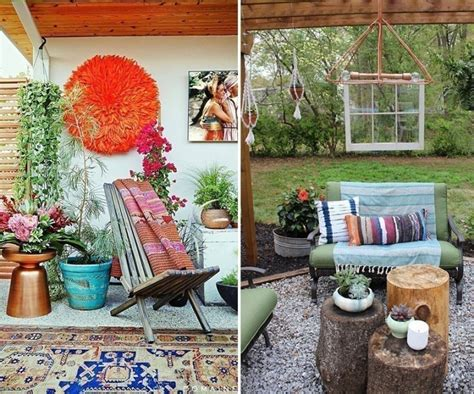 decorar tu patio ideas para decorar tu casa con un estilo bohemio hazlo