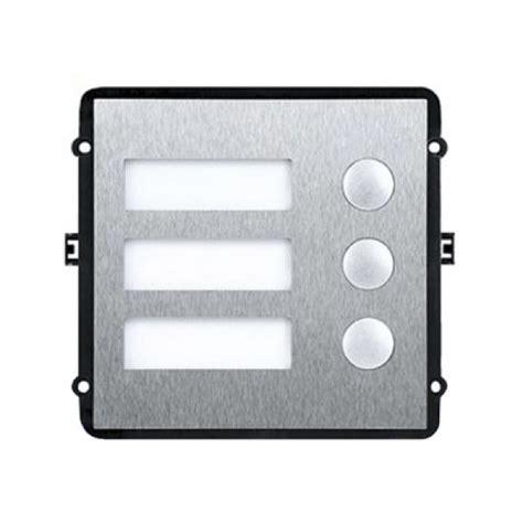 modulo independientes m 243 dulo independiente 3 botones para videoportero dahua