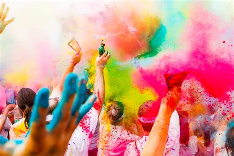 the color run dallas the wildest race will leave you doused in color epic