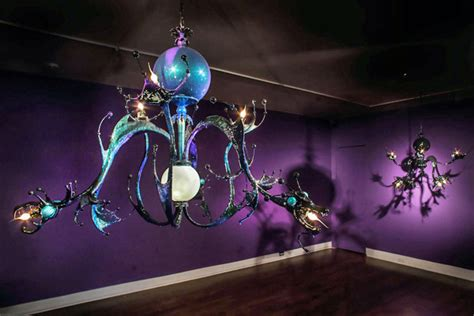Adam Wallacavage Chandeliers Octopus Chandeliers By Adam Wallacavage