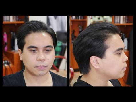 undercut men hairstyle while growing out how to grow out an undercut haircut thesalonguy youtube