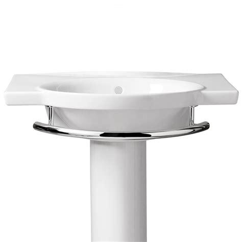pedestal sink towel bar pedestal sink roycroft 26 inch pedestal lavatory from dxv