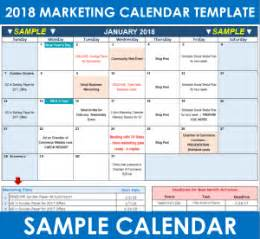 marketing caign calendar template how to use your 2018 marketing calendar template free