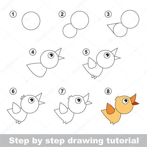 how to make doodle tutorial tutorial de dibujo c 243 mo dibujar un p 225 jaro vector de