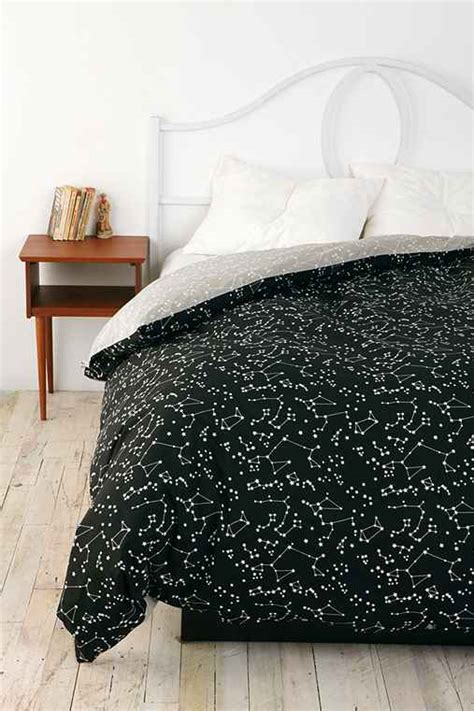 constellation bedding constellation duvet cover urban outfitters